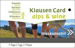 Gästekarte Klausen in Südtirol