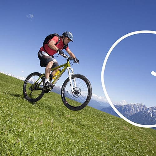 Mountainbiken in Südtirol - Laitacherhof in Klausen
