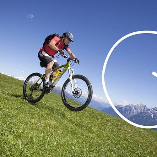 Mountainbiken in Südtirol - Laitacherhof in Klausen