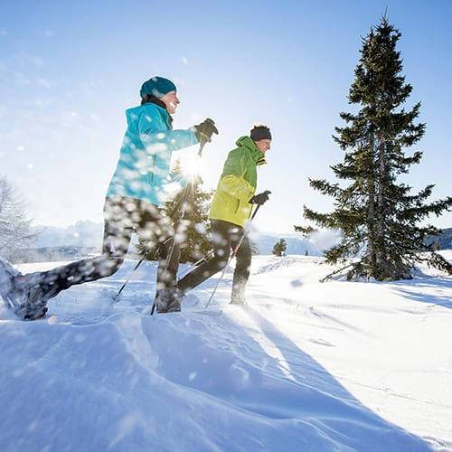 Winter in Südtirol - Laitacherhof in Klausen