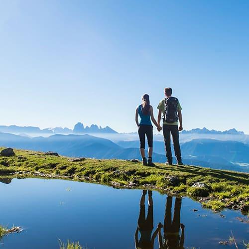 Wandern in Südtirol - Laitacherhof in Klausen