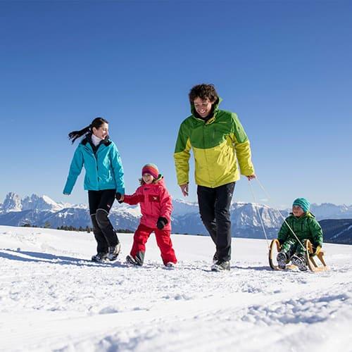 Winterwandern in Südtirol - Laitacherhof in Klausen