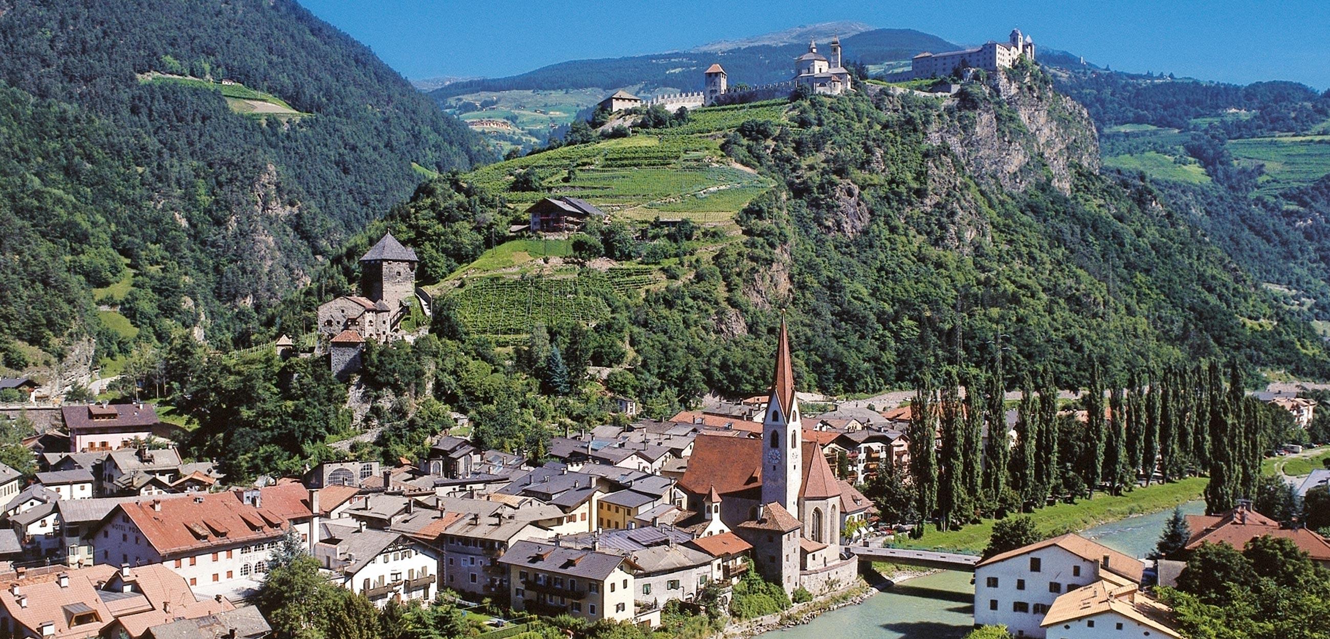 Laitacherhof in Klausen - Südtirol Lage und Entfernung