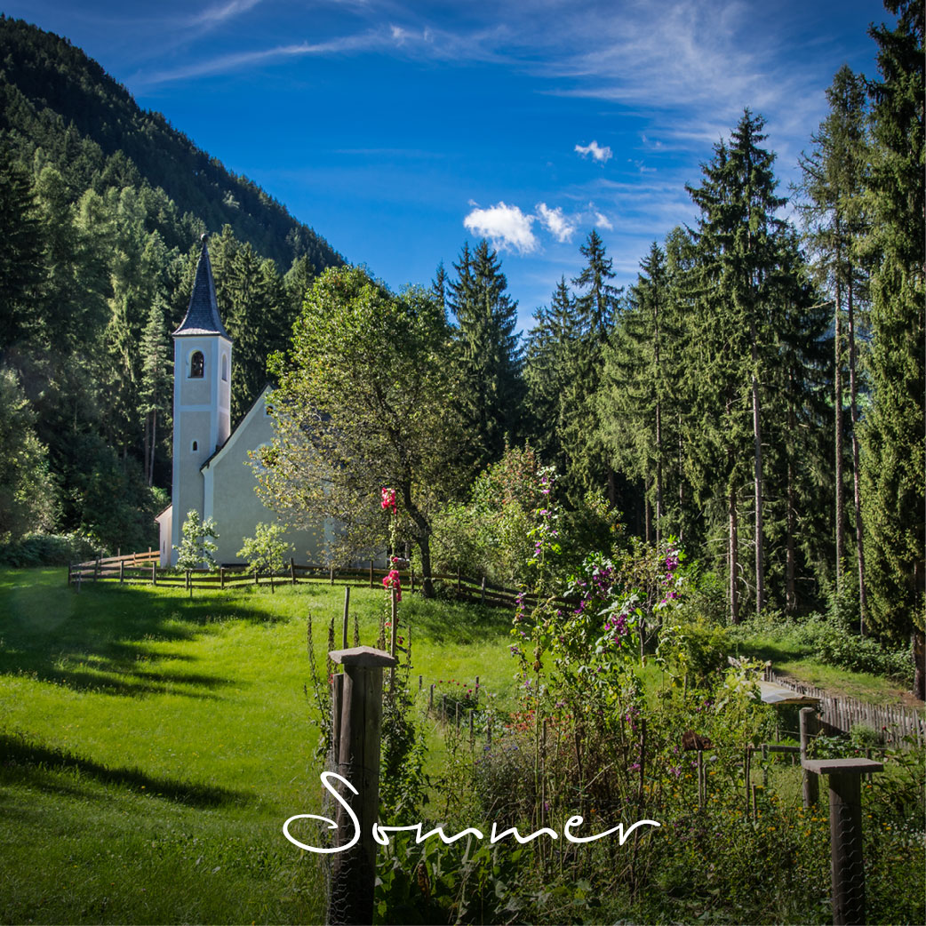 Sommer in Südtirol - Laitacherhof in Klausen
