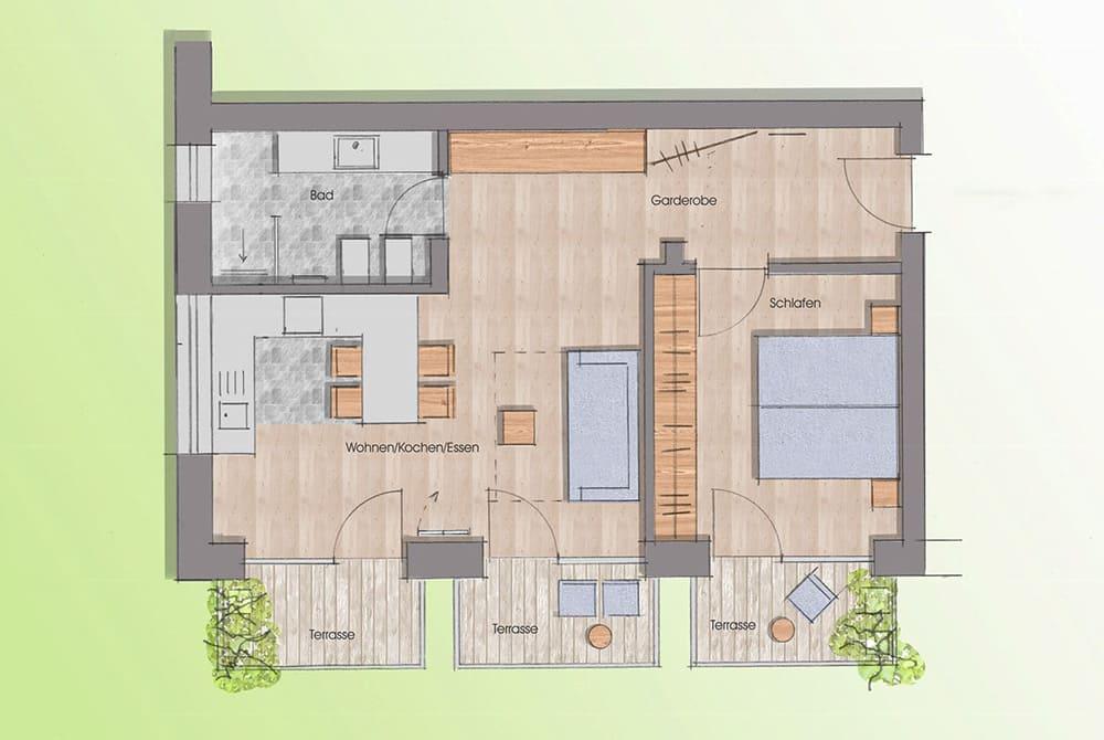ferienwohnung mit sauna preisliste residence laitacherhof. Black Bedroom Furniture Sets. Home Design Ideas