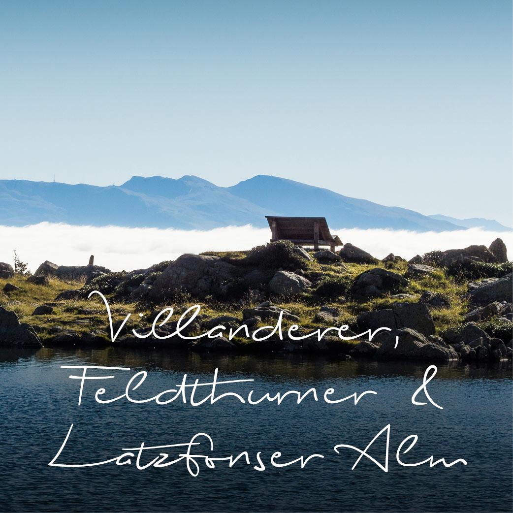 Villanderer Alm, Feldthurner & Latzfonser Alm