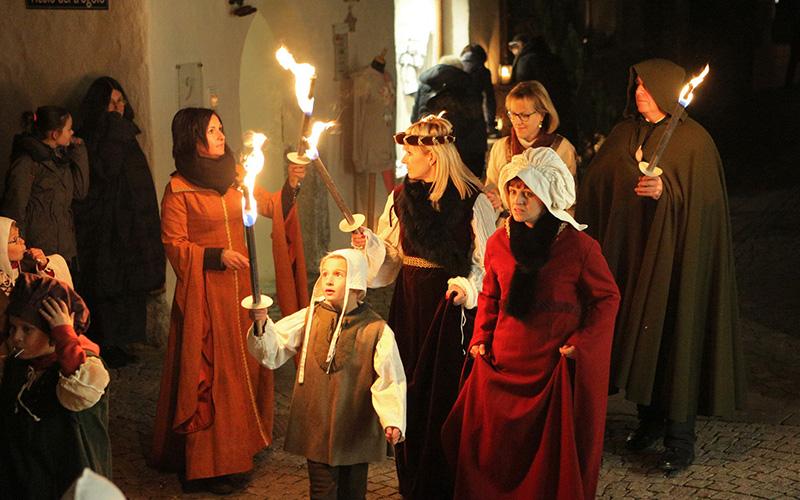 Mittelalterliche Weihnacht in Klausen